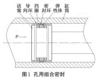 图1孔用组合密封