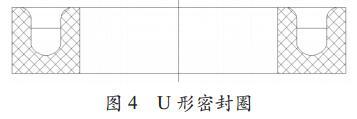 �D4 U 形密封圈
